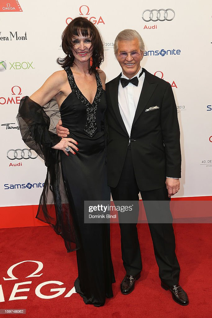 Mona Opris and Alfred Jung attend the Germany Filmball 2013 at Hotel Bayerischer Hof on January 19, 2013 in Munich, Germany.