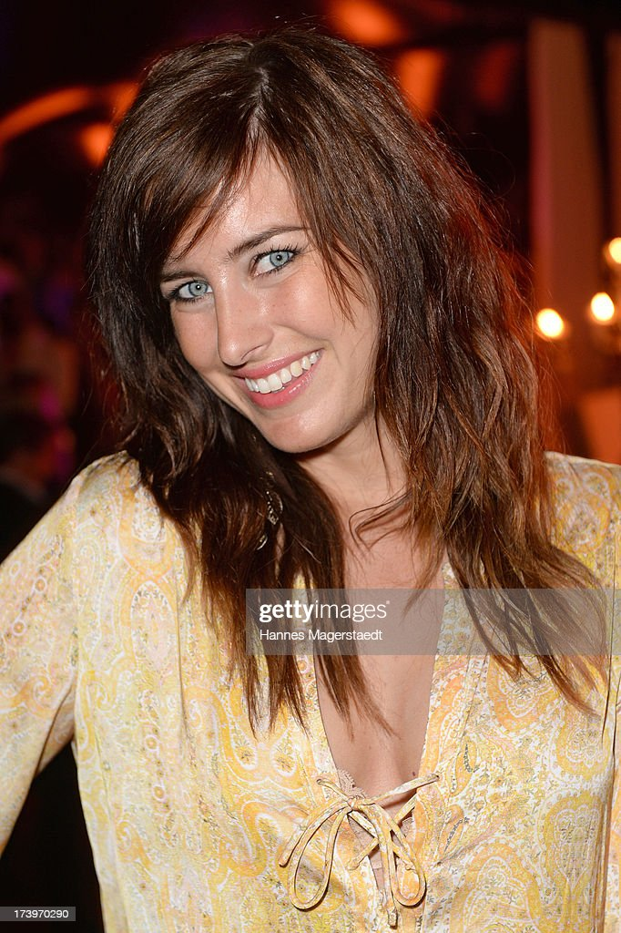 Mona Stoeckli attends the Verena Kerth birthday party at P1 on July 18, 2013 in Munich, Germany. Kerth also celebrated the release of the new Playboy issue with her on the cover.