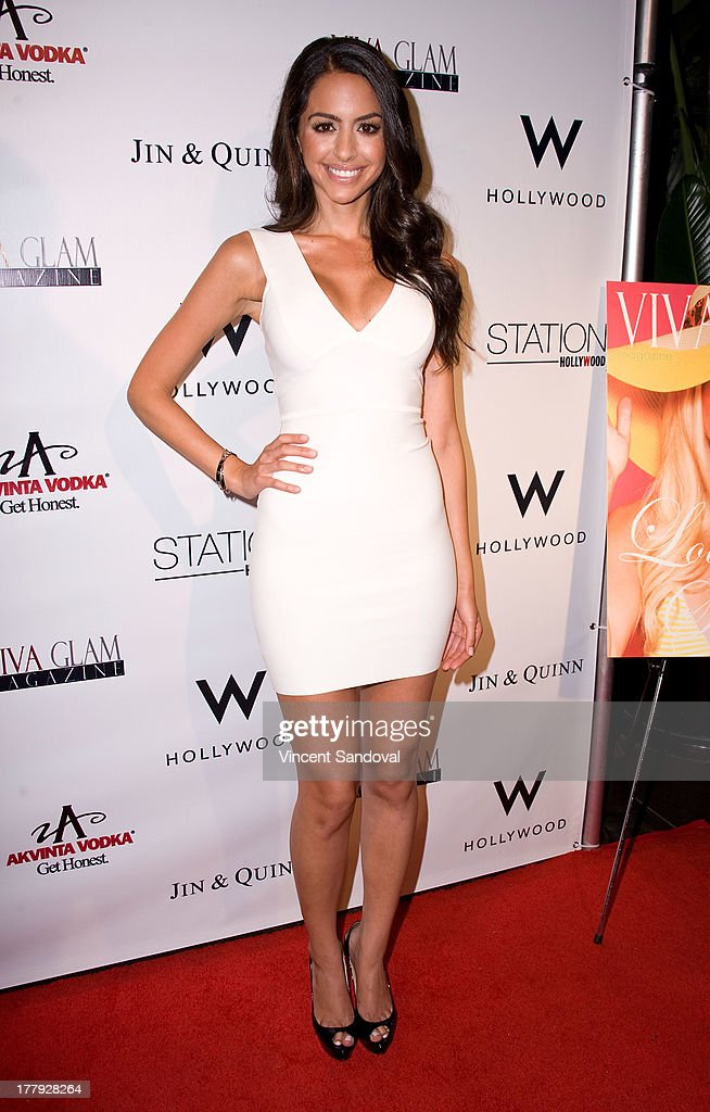 Mona Zohrehvand attends the Viva Glam magazine summer 2013 print issue launch party at W Hollywood on August 25, 2013 in Hollywood, California.