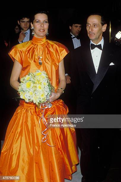 Monaco Marc Bohan fashion designer for Dior with Princess Caroline of Monaco