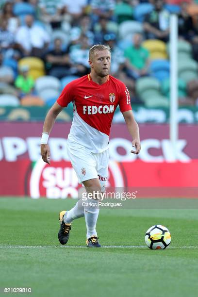 Monaco defender Kamil Glik from Poland during the Friendly match between Sporting CP and AS Monaco at Estadio Jose Alvalade on July 22 2017 in Lisbon...