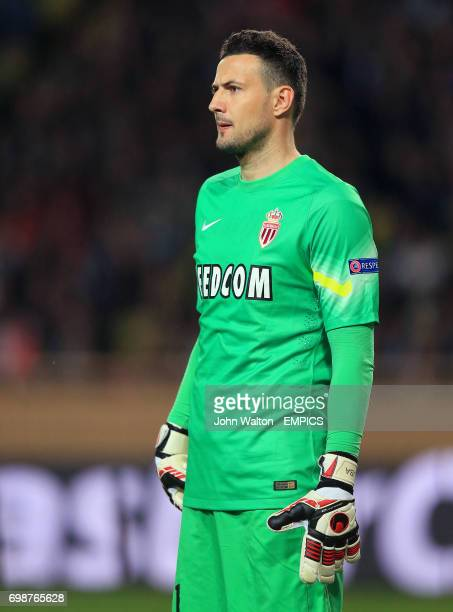 AS Monaco goalkeeper Danijel Subasic