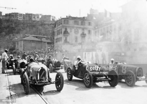 Monaco Grand Prix 1929 The first Monaco Grand Prix was staged on the 14th April 1929 and was won by GroverWilliams in a Bugatti The Monaco Grand Prix...