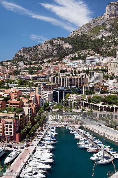 Monaco Harbor in Monte Carlo