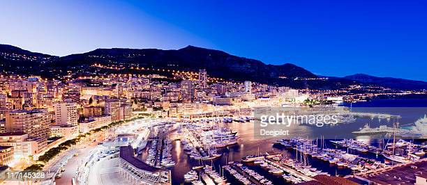 Im Hafen von Monaco und Monte Carlo Hafen