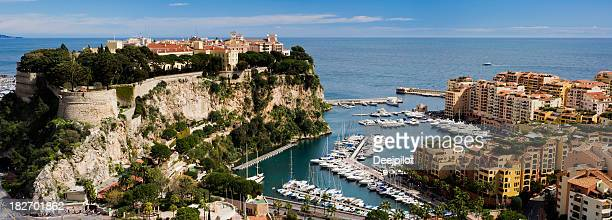 Monaco Harbour and Marina in Monte Carlo