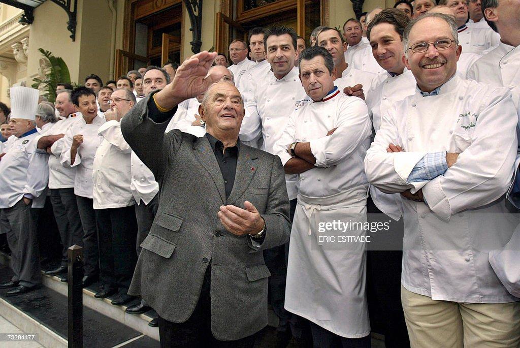 Photo of Paul Bocuse & his friend