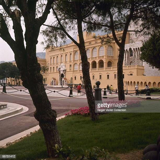 Monaco The Princely palace 1971