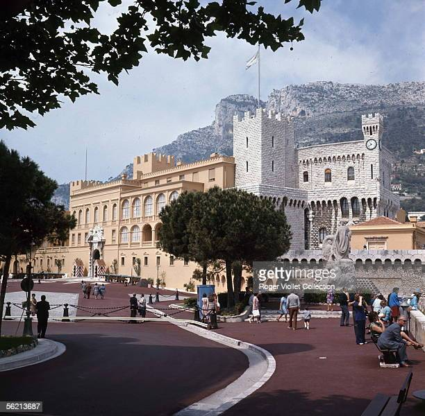 Monaco The Princely palace