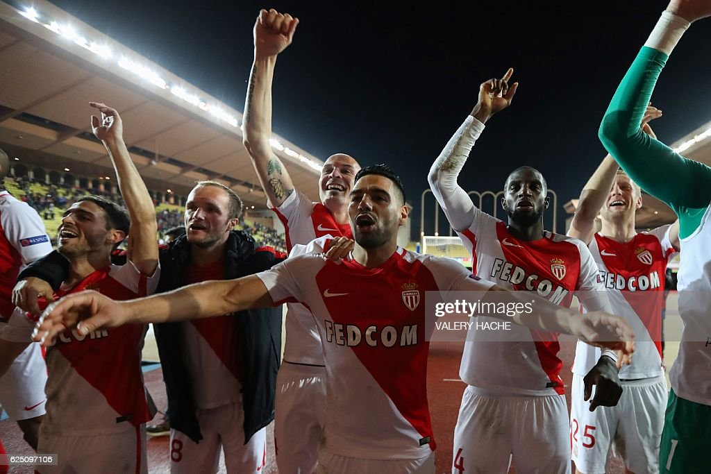 FBL-EUR-C1-MONACO-TOTTENHAM : News Photo