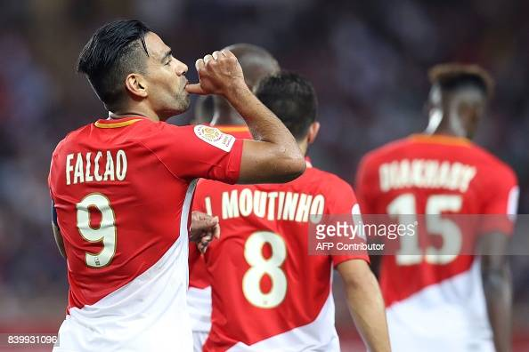 FBL-FRA-LIGUE1-MONACO-MARSEILLE : News Photo