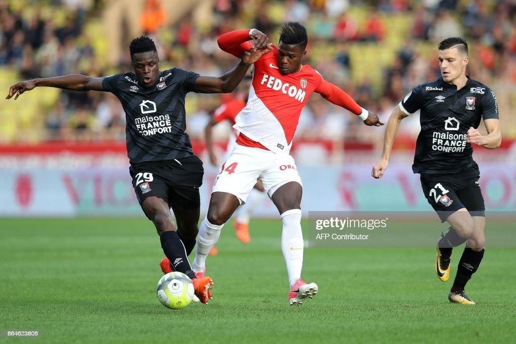 AS Monaco v SM Caen - Ligue 1
