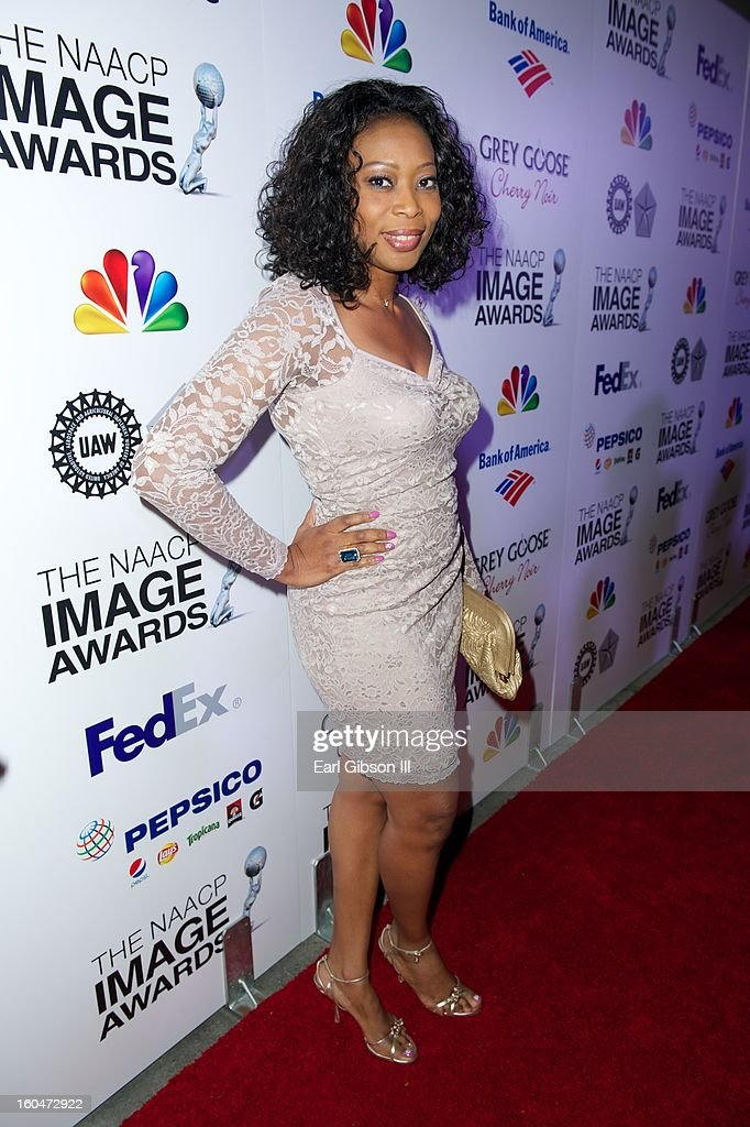 <a gi-track='captionPersonalityLinkClicked' href=/galleries/search?phrase=Monalisa+Okojie&family=editorial&specificpeople=5547532 ng-click='$event.stopPropagation()'>Monalisa Okojie</a> attends the 44th NAACP Image Awards Pre-Gala at Vibiana on January 31, 2013 in Los Angeles, California.