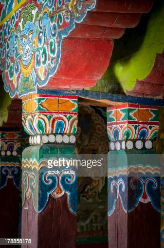 Monastery architecture detail : Stock Photo