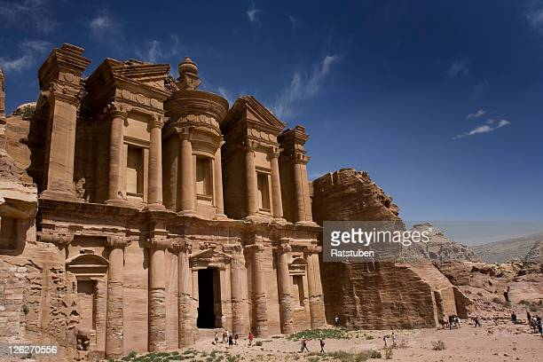 Monastery in the archaeological site at Petra