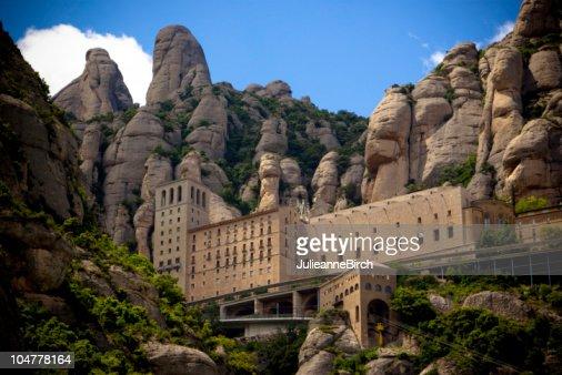 修道院モンセラート、バルセロナ、スペイン