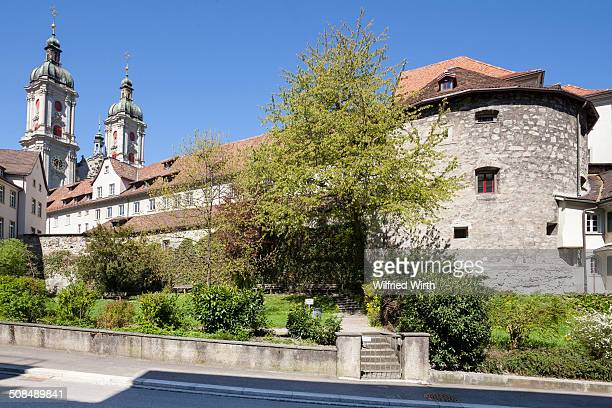 Monastery quarter with the Collegiate Church of St. Gallen, cathedral, UNESCO World Heritage Site, St. Gallen, Canton of St. Gallen, Switzerland