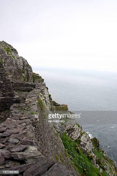 Monastic site on Skellig Michael