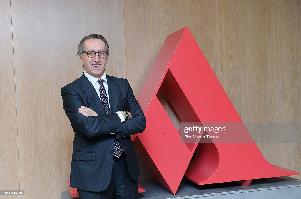 Mondadori CEO Ernesto Mauri attends a press conference to announce the publishing company's annual report for 2012 at head office on March 20, 2013 in Segrate, Italy. A meeting of the Board of Directors approved the appointment of Ernesto Mauri as CEO, following Maurizio Costa's resignation in February 2013. Net consolidated revenues to December 31, 2012, were announced at Euros 1.416,1 million; down 6% per cent in comparison to Euro 1,507.2 million in 2011.