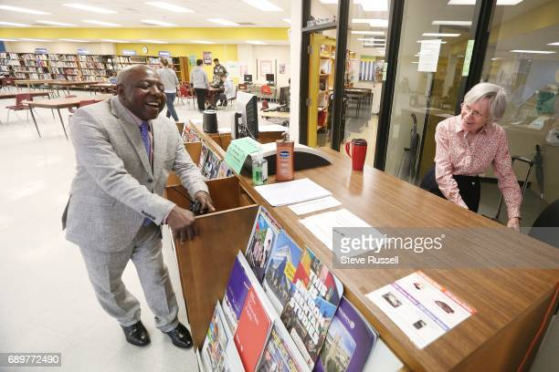 TORONTO ON APRIL 11 Monday Gala chats with the librarian As principal of CW Jefferys Monday Gala has abolished streaming earned national and local...