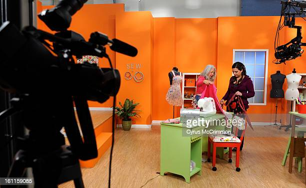Monday October 18 2010 on the television set of 'Sew It All' a new PBS program lead by Sew News geared for new DIY sewers Before the taping show host...
