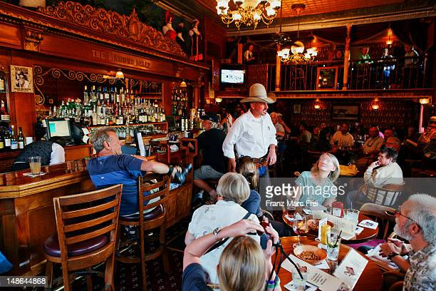 Monday Shooting at the Diamond Belle Saloon became a fun event for tourists and locals.