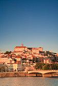 Mondego River and Coimbra Skyline