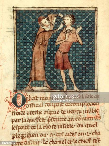 Mondeville Henri De Surgeon to Philip The Fair and Professor of Anatomy and Surgery The Eye Paris Bibliotheque nationale