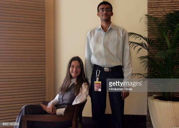 Mondialogo Competition Contenders Verena Steckenreiter and Anish Modi presented an idea to improve the health of villagers in rural India by...