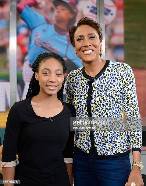 AMERICA Mo'ne Davis the first female pitcher to win a game in the Little League World Series and is in the National Baseball Hall of Fame talks to...