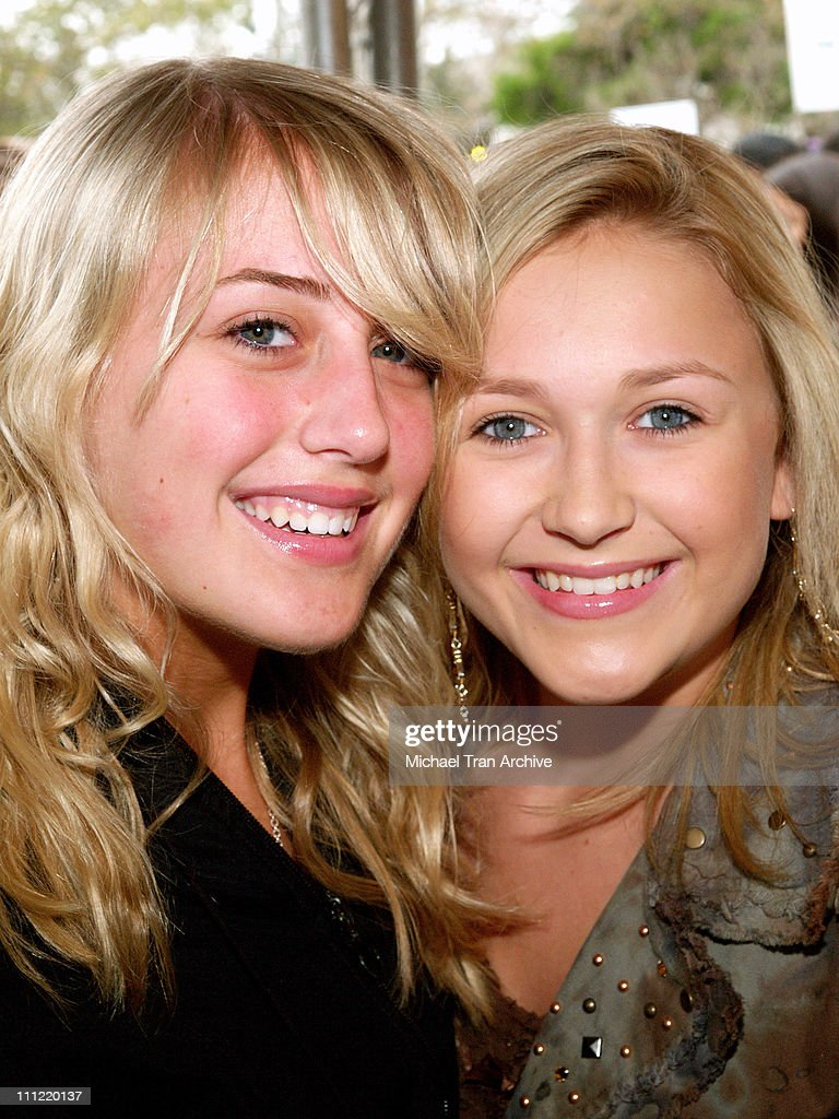 Monet Lerner and Skye McCole Bartusiak during Radio Disney Easter 'Eggsplosion' in the City of Burbank April 15 2006 at Johnny Carson Park in Burbank...