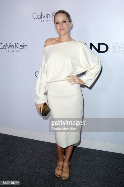 Monet Mazur attends CALVIN KLEIN COLLECTION LOS ANGELES NOMADIC DIVISION CELEBRATE LA ARTS MONTH ART LOS ANGELES CONTEMPORARY at Los Angeles on...