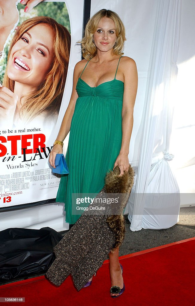 Monet Mazur during 'Monster-In-Law' Los Angeles Premiere - Arrivals at Mann National Theatre in Westwood, California, United States.