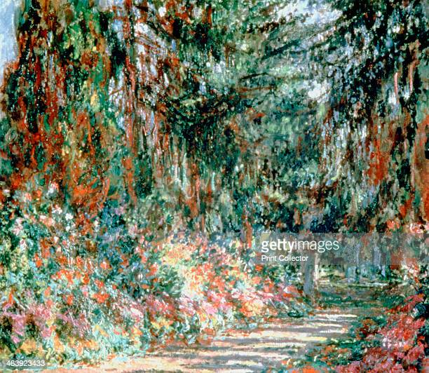 'Monet's Garden' c1880 From a private collection
