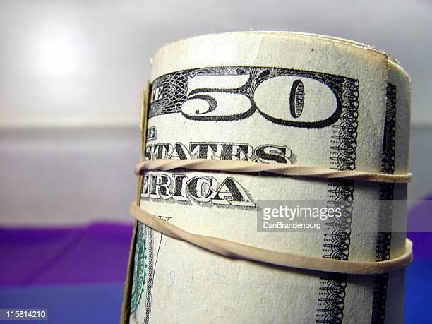 Geld, 50,-US-Dollar