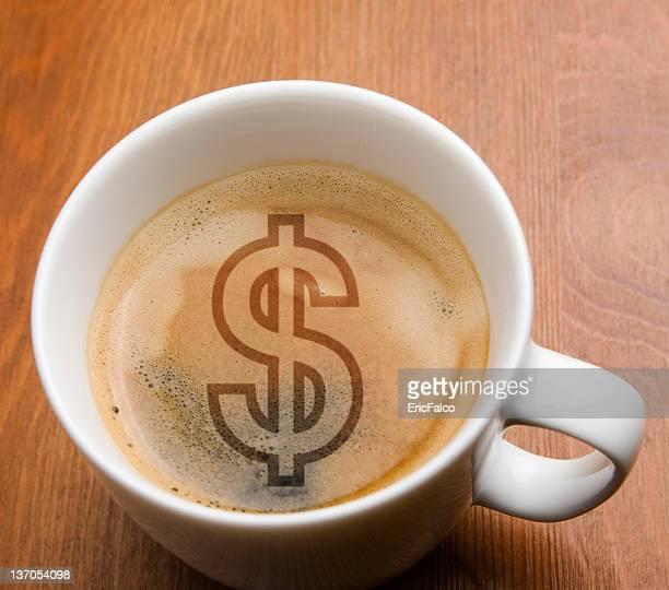 Geld Kaffee