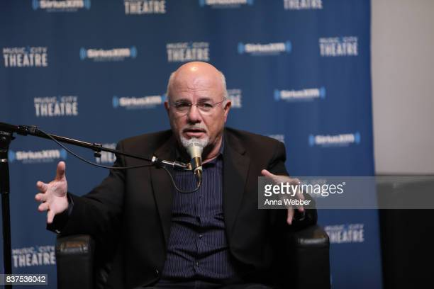 Money Expert Dave Ramsey Celebrates 25 Years On The Radio During A SiriusXM Town Hall at Sirius XM Nashville studios on August 22 2017 in Nashville...