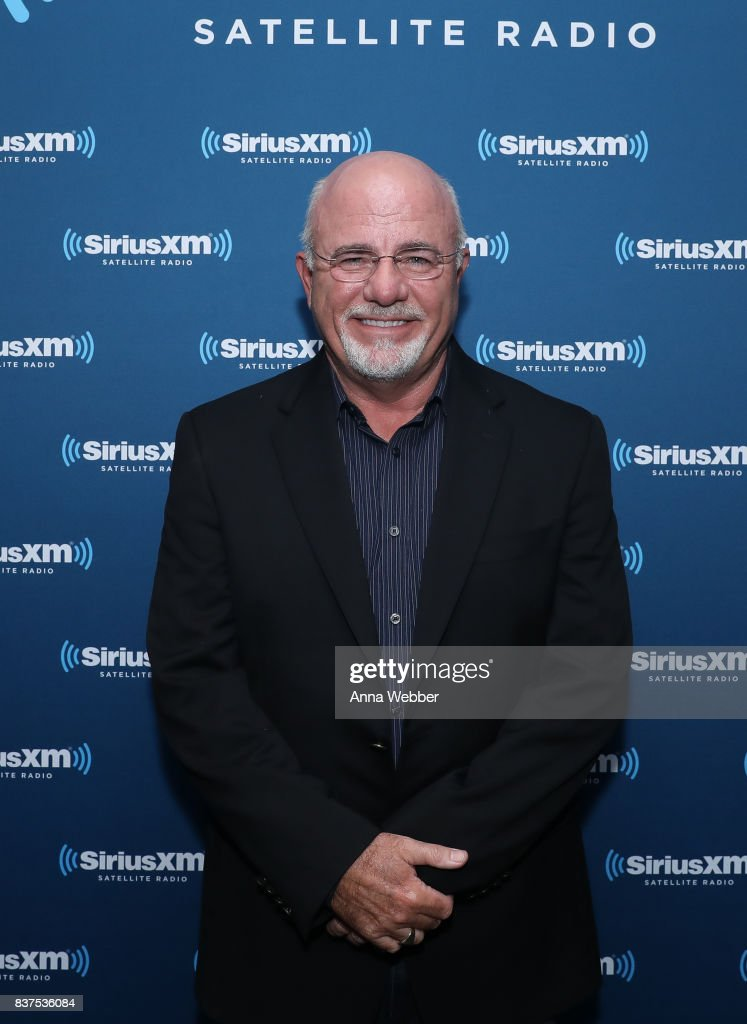 Money Expert Dave Ramsey Celebrates 25 Years On The Radio During A SiriusXM Town Hall at Sirius XM Nashville studios on August 22, 2017 in Nashville, Tennessee.