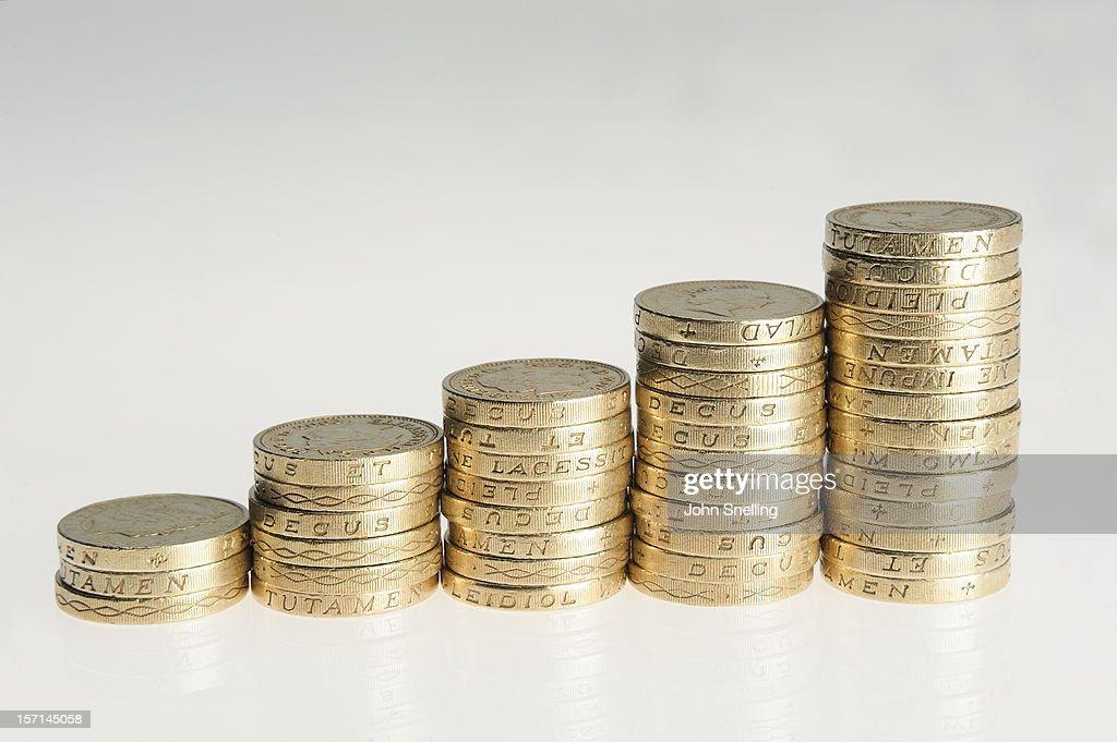 Money Financial Graph : Stock Photo