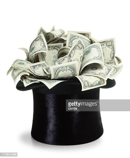 Geld-Mütze