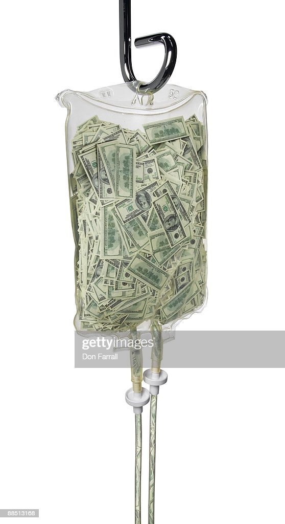 Money iv bag