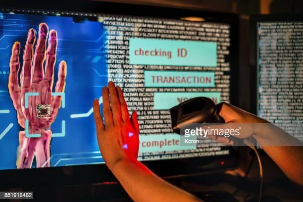 Money - Microchip Digital Payment - Identity Thief