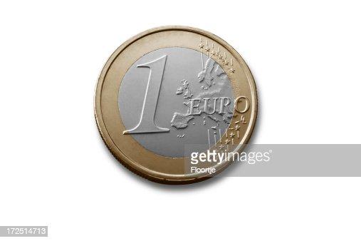 Money: One Euro Coin