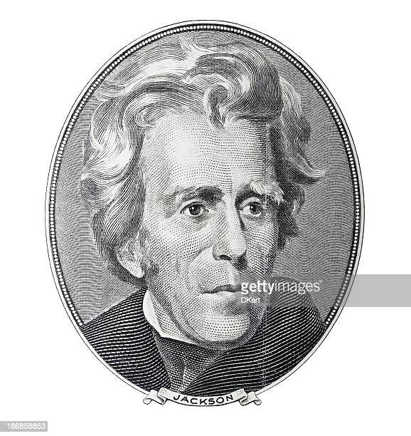 Money. President Andrew Jackson portrait