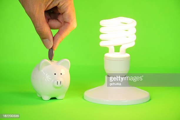 Money Saving CFL-Glühbirne