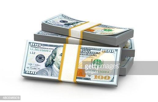 money stack : Stock Photo