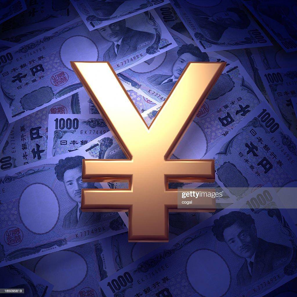 Moneys and Yen sign