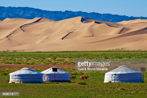 Mongolia, Gobi desert, Khongoryn Els dunes