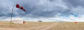 Mongolia grasslands airfield biplane yurt China