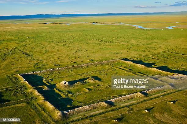 Mongolia, Khara Balgas, ancient Uygur city